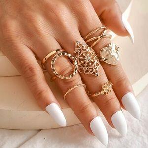 3/$30 💛 Boho Ring Set